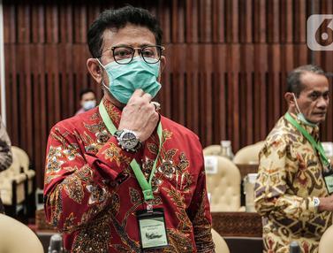 Gunakan Kalung Anti Virus Corona, Mentan Raker dengan Komisi IV