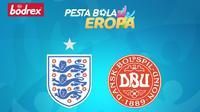 Piala Eropa - Timnas Inggris Vs Timnas Denmark (Bola.com/Adreanus Titus)