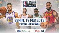 NBA ALL STAR 2018 (Bola.com/Adreanus Titus)