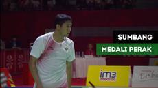 Berita video Fredy Setiawan sumbang medali perak dari cabang olahraga bulutangkis tunggal putra SL4.