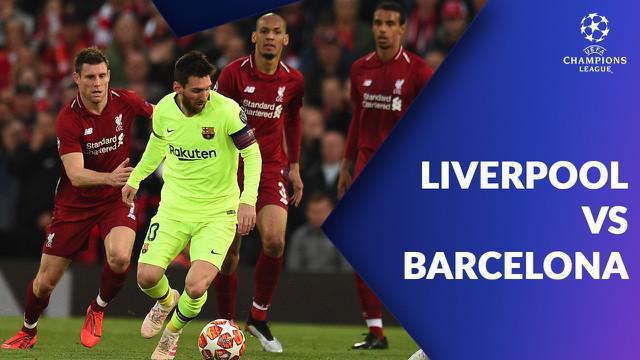 Berita video statistik pertandingan Liverpool vs Barcelona pada leg kedua semifinal Liga Champions 2018-2019, Rabu (8/5/2019) di Anfield, Liverpool.