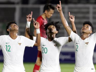 Timnas Indonesia U-19 Menang Telak Atas Hong Kong