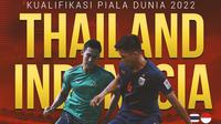 Kualifikasi Piala Dunia - Thailand Vs Indonesia - Pansa Hemviboon Vs Ryuji Utomo (Bola.com/Adreanus Titus)