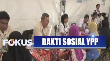 YPP SCTV-Indosiar dan Kodam IV Diponegoro menggelar bakti sosial di Batang, Jawa Tengah.