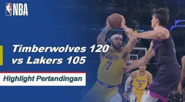 Karl-Anthony Towns berakhir dengan 27 poin dan 12 rebound dan Andrew Wiggins menambah 23 ketika Timberwolves meningkat menjadi 0,500.