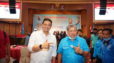 Bobby Nasution dan Fahri Hamzah