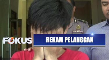 Seorang pegawai toko baju di sebuah mal Surabaya ditangkap karena merekam pengunjung yang tengah mencoba baju di ruang ganti.