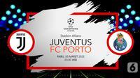 Juventus vs FC Porto (liputan6.com/Abdillah)