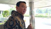 Mantan Gubernur DKI Jakarta Basuki Tjahaja Purnama atau akrab disapa Ahok menyambangi kantor Kementerian BUMN, Rabu (13/11/2019).