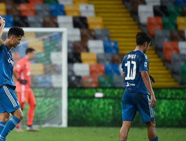 Juventus Gagal Raih Kemenangan di Markas Udinese