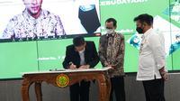 Kemendikbud dan Kementan teken kerja sama untuk memperkuat peran SDM pertanian. (Istimewa)