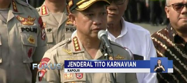 Jelang tahap kampanye Pemilu 2019 termasuk di ajang Pemilihan Presiden, polisi bersama TNI mulai bersiap melakukan langkah pengamanan.