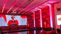 Presiden Joko Widodo atau Jokowi di HUT PDIP ke 48. (Foto: Dokumentasi PDIP).