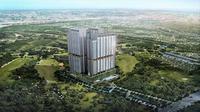 Apartemen Puri 8 Residence akan dibangun di atas lahan seluas sekitar 1,6 hektar yang terdiri dari tiga tower apartemen dengan total 1.090 unit. (Liputan6.com/Muhammad Rinaldi)