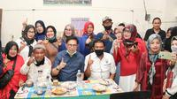 Calon Gubernur Sumatera Barat (Sumbar) Mulyadi blusukan ke Pasar Padang Panjang (Foto: IStimewa)