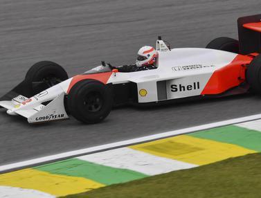 Foto: 5 Pembalap F1 yang Pernah Terkena Bendera Hitam, Senna dan Schumacher Diantaranya