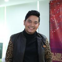 Indra Bekti rilis Video Klip di SCTV Tower, Senayan, Jakarta Pusat, Rabu (15/1/2020). (Daniel Kampua/Fimela.com)