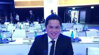 Erick Thohir saat mengikuti sidang komite olimpiade internasional (IOC) di Lausanne Swiss (istimewa)