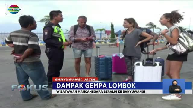 Dampak gempa di Lombok dan Bali, para wisatawan beralih memilih berlibur ke Banyuwangi.