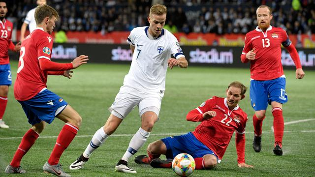 Sejarah, Finlandia Lolos Piala Eropa 2020