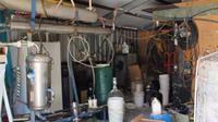 Laboratorium sabu berskala industri di Adelaide, Australia (handout: SAPOL)