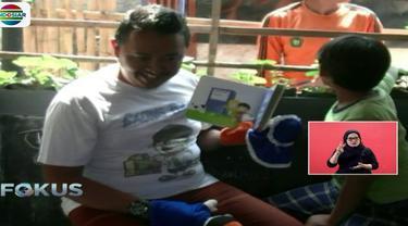 Kehadiran Saung Baca Kang Yadi dirasa begitu bermanfaat, tidak hanya oleh anak-anak tapi juga warga sekitar.