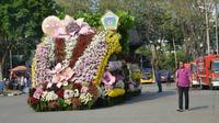 Pemerintah Kabupaten Gresik bakal gelar pawai karnaval bertema Bhinneka Tunggal Ika, Kita menuju Indonesia Unggul.(Foto:Liputan6.com/Dian Kurniawan)
