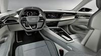 Interior Audi e-tron GT concept yang bebas bahan hewani (Carscoops.com)