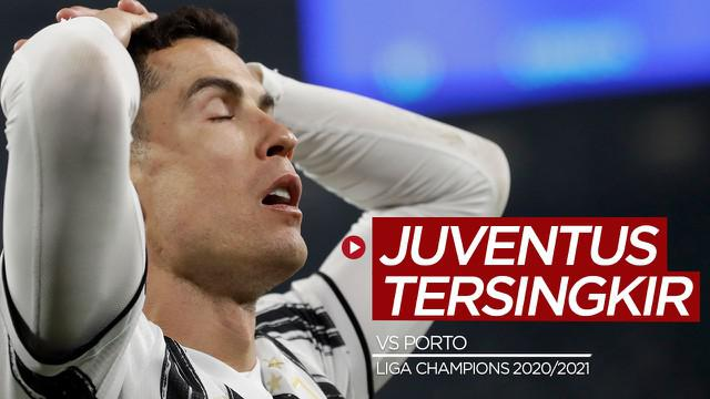 Berita video mini match, yang berisi gol-gol dan beragam peluang pada leg kedua babak 16 besar Liga Champions 2020/2021 antara Juventus melawan FC Porto, Rabu (10/3/2021) dinihari WIB.