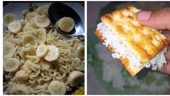 8 Ide Nyeleneh Campuran Makanan ala Netizen, Enggak Habis Pikir