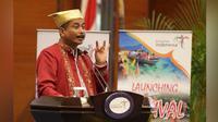 Menteri Pariwisata (Menpar) Arief Yahya melaunching 10 destinasi pariwisata utama Indonesia, dengan branding baru.