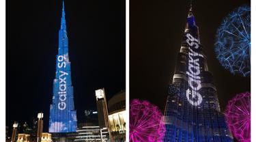 Galaxy S9 Burj Khalifa
