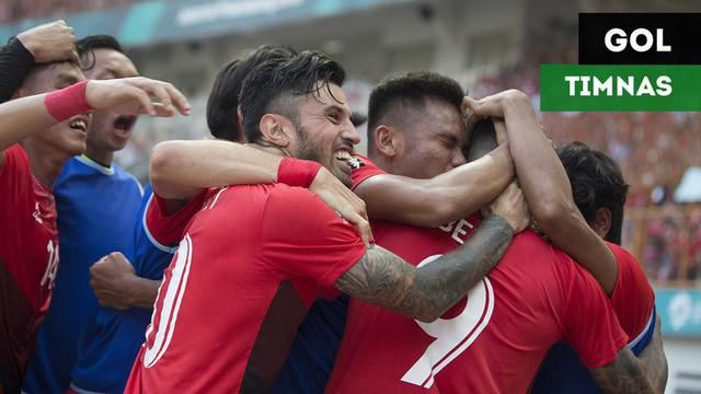 Berita video dua gol Timnas Indonesia U-23 saat menghadapi UEA pada 16 Besar cabang sepak bola putra Asian Games 2018.