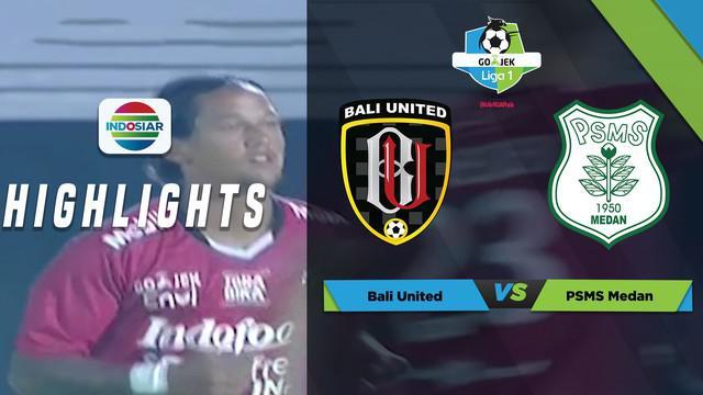 Berita video momen gol Bali United dari free kick Irfan Bachdim dianulir wasit karena offside saat menghadapi PSMS Medan dalam laga Liga 1 2018, Sabtu (24/3/2018).