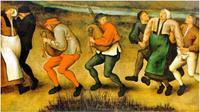 Ilustrasi Wabah Menari 1518