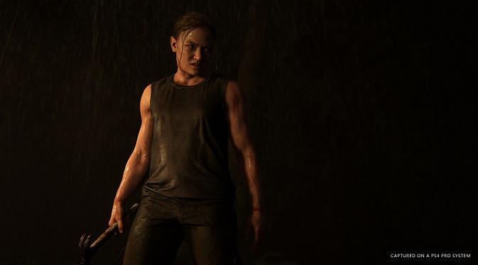 Karakter wanita misterius di The Last of Us 2. (Foto: Naughty Dog)