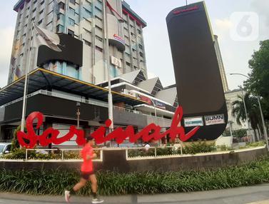 FOTO: Gedung Pusat Perbelanjaan Pertama di Indonesia Segera Direnovasi