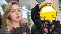 Gaya Jessica Iskandar Dengan Rambut Warna Pink. (Sumber: Instagram/inijedar)