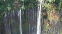 Air terjun Tumpak Sewu di Lumajang, menjadi favorit wisatawan.