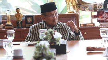 BJ Habibie Terima Kunjungan Tokoh Gerakan Suluh Kebangsaan