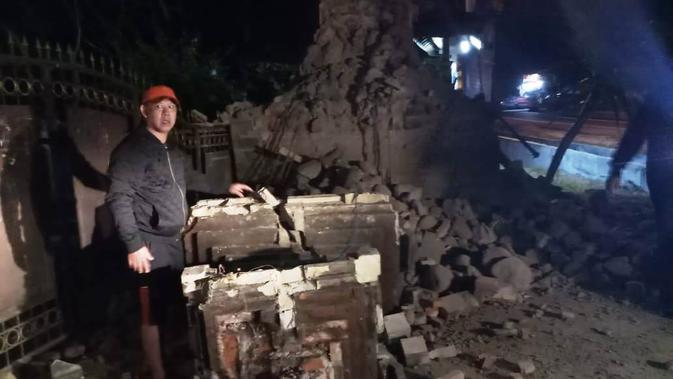 Kesurakan karena gempa Situbondo. (dok BNPB)