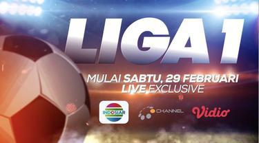 Berita video saksikan Liga 1 2020 yang dimulai pada Sabtu, 29 Februari secara langsung eksklusif di Indosiar. Jangan lewatkan laga Liga 1 lainnya juga di O Channel dan Vidio.