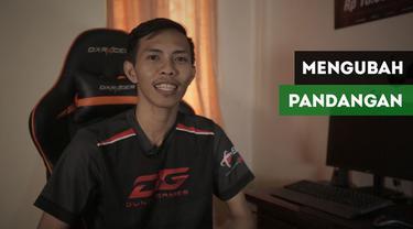 Atlet e-Sports Indonesia, Glen Richard merasakan susahnya meyakinkan orang tua soal jalan hidup yang kini ia ambil.