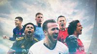 Ilustrasi Premier League (Bola.com/Adreanus Titus)