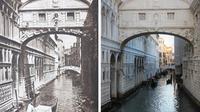 Potret Perbedaan Tempat Terkenal di Dunia Usai 100 Tahun. (Sumber: Brightside)