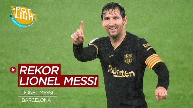 Berita video spotlight, 5 rekor Lionel Messi yang sulit dipecahkan siapapun.