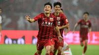 Striker Shanghai SIPG asal China, Wu Lei. (AFP/STR)