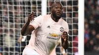 3. Romelu Lukaku (84 juta euro) - Manchester United memboyong Lulaku dari Everton pada tahun 2017. Saat itu, Manchester United mengeluarkan dana mencapai 84,70 juta euro untuk melabuhkan striker asal Belgia ini. (AFP/Franck Fife)