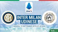 Serie A - Inter Milan Vs Udinese (Bola.com/Adreanus Titus)
