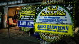 Mereka terlihat datang melayat ke rumah duka yang berada di kawasan Pondok Indah, Jakarta. Menurut Ashanty, dirinya tak terlalu mengenal dekat dengan sosok ayah Olla. (Adrian Putra/Bintang.com)